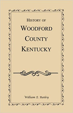 History of Woodford County, Kentucky