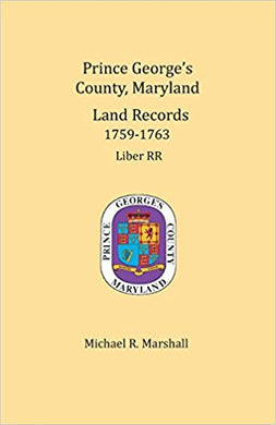 Prince George's County, Maryland, Land Records, 1759-1763