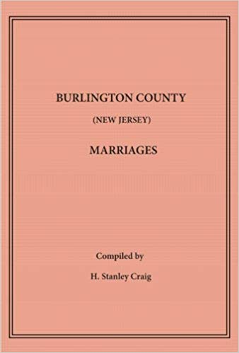 Burlington County Marriages