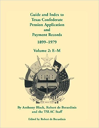 Guide and Index to Texas Confederate Pension Application and Payment Records, 1899-1979, Volume 3, N-Z