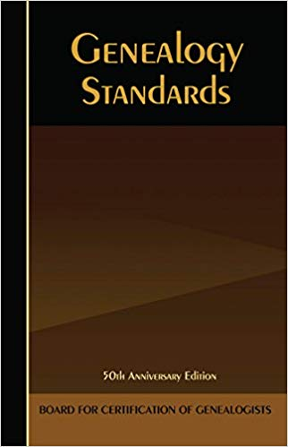 Genealogy Standards, 50th Anniversary Edition