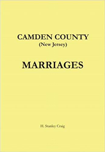 Camden County Marriages