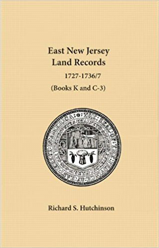 East New Jersey Land Records, 1727-1736/7