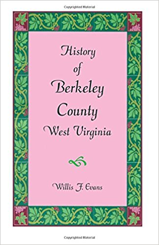 History of Berkeley County, West Virginia