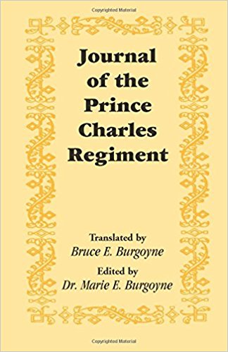 Journal of the Prince Charles Regiment