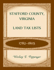 Stafford County, Virginia Land Tax Lists, 1782-1805