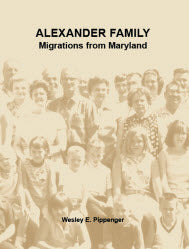 Alexander Family: Migrations from Maryland