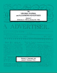 The Virginia Journal and Alexandria Advertiser, Volume II (February 3, 1785 to January 26, 1786