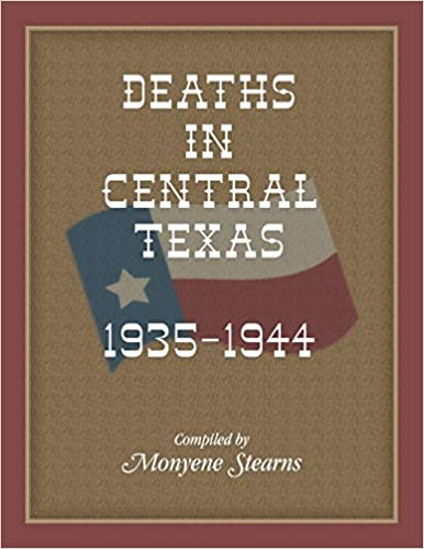 Deaths In Central Texas, 1935-1944