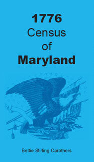 1776 Census of Maryland