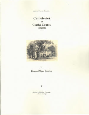 Cemeteries of Clarke County, Virginia