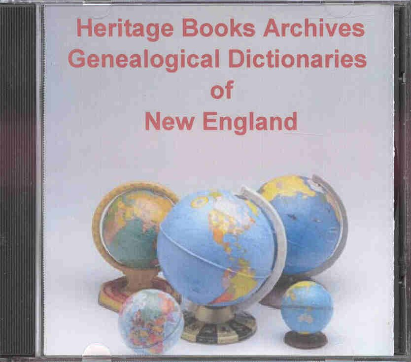 CD: Genealogical Dictionaries of New England