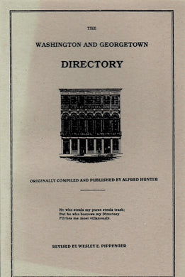 The Washington and Georgetown Directory of 1853