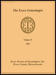 The Essex Genealogist, Volume 25, 2005
