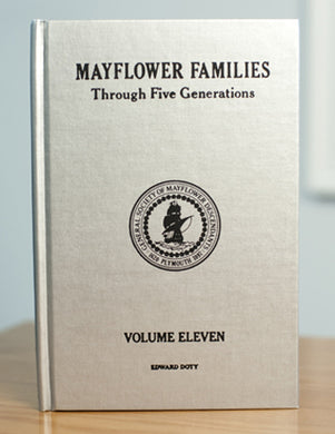 Mayflower Families Through Five Generations: Volume 11, Part 2 Edward Doty