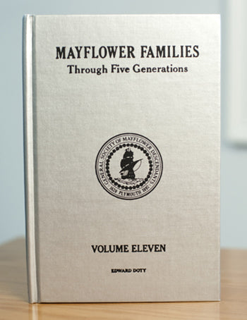Mayflower Families Through Five Generations: Volume 11, Part 1 Edward Doty