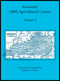 Kentucky 1860 Agricultural Census, Volume 2