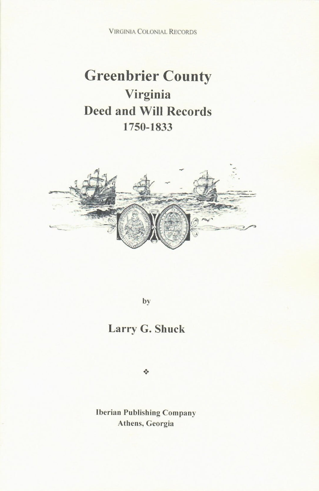 Greenbrier County, Virginia Records Volume 5