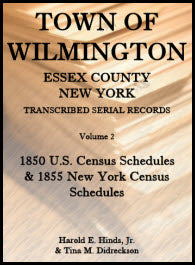 Town of Wilmington, Essex County, New York, Transcribed Serial Records, Volume 2