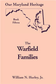 Our Maryland Heritage, Book 15: The Warfield Families