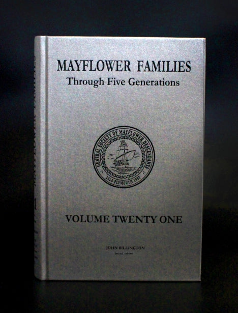 Mayflower Families Through Five Generations: Volume 21, John Billington