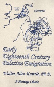 Early Eighteenth Century Palatine Emigration: A British Government Redemptioner Project to Manufacture Naval Stores