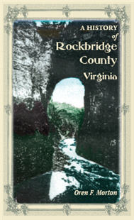 A History of Rockbridge County, Virginia