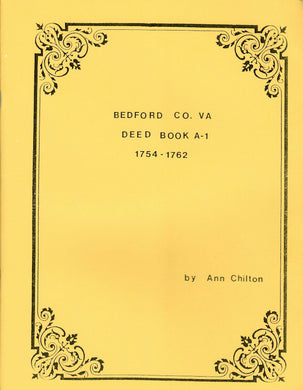 Bedford County, Virginia Deed Book