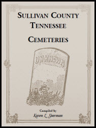 Sullivan County, Tennessee, Cemeteries
