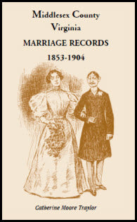 Middlesex County Marriage Records 1853-1904