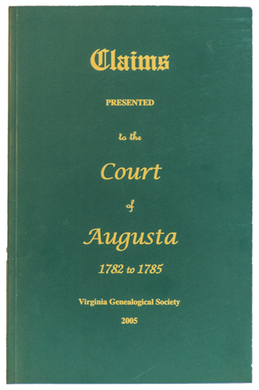 Claims Presented to the Court of Augusta, 1782-1785