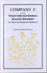 Company C of the Twenty-Second Georgia Infantry Regiment in the Confederate Service