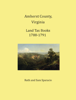 Amherst County, Virginia Land Tax Books, 1789-1791