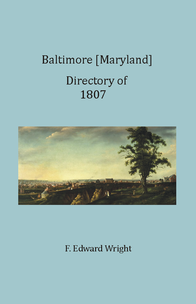 Baltimore Directory of 1807