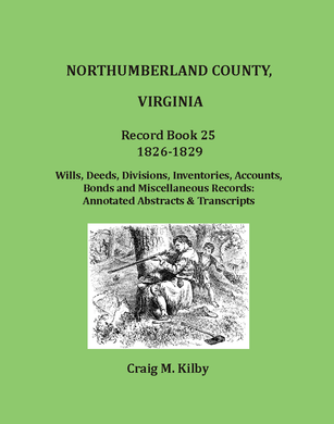 Northumberland, County Virginia Record Book 25, 1826-1829