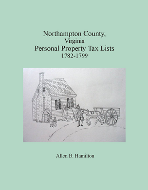 Northampton County, Virginia Personal Property Tax Lists, 1782-1799