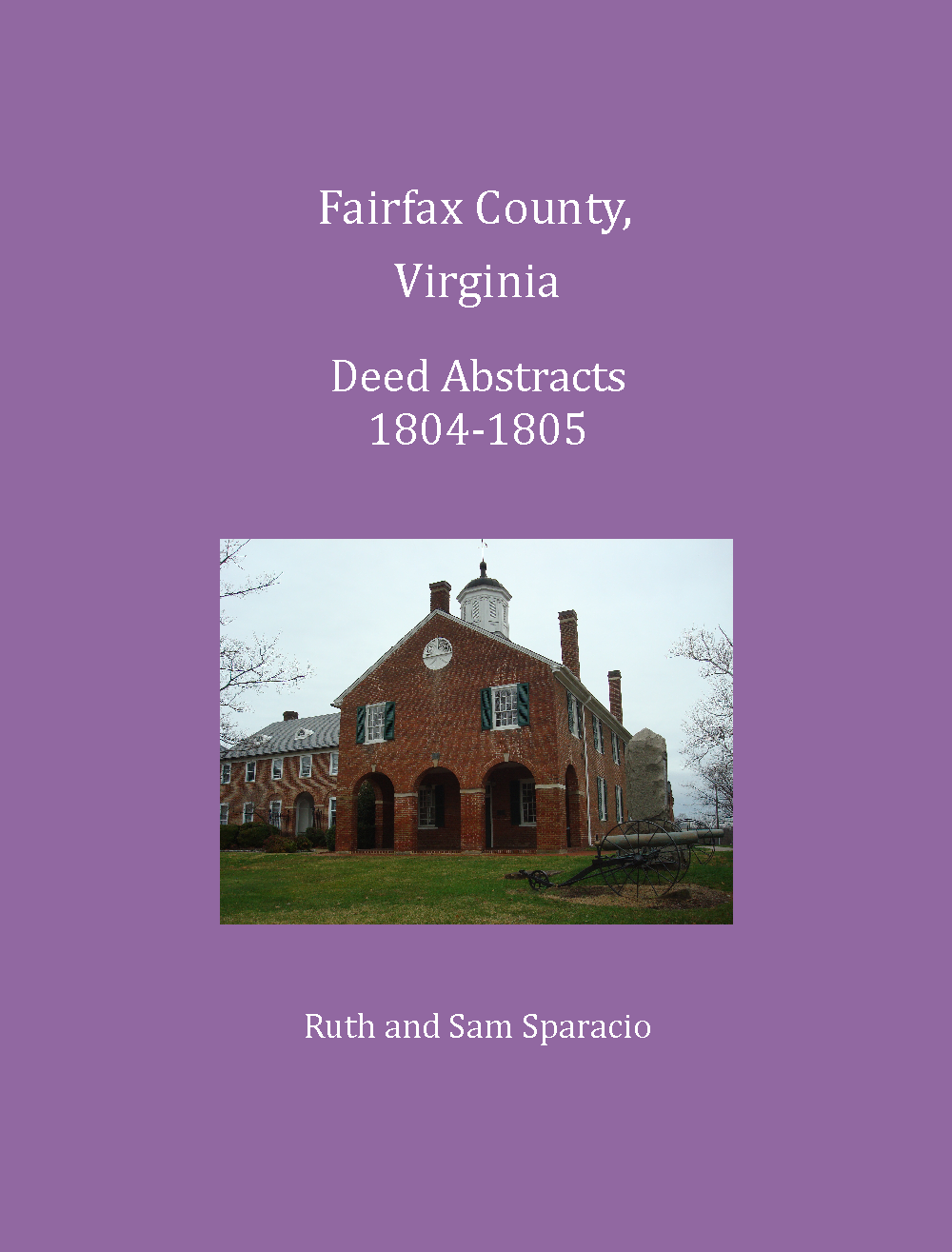 Fairfax County, Virginia Deed Abstracts, 1804-1805
