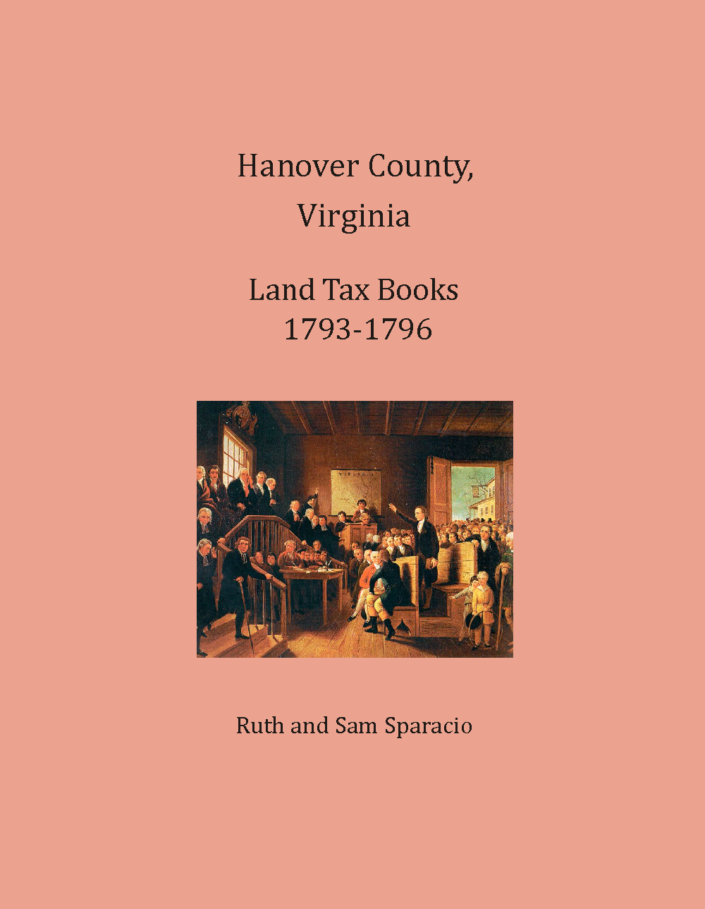 Hanover County, Virginia Land Tax Book, 1793-1796