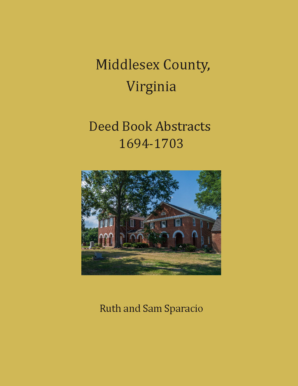 Middlesex County Virginia Deed Book 1694-1703