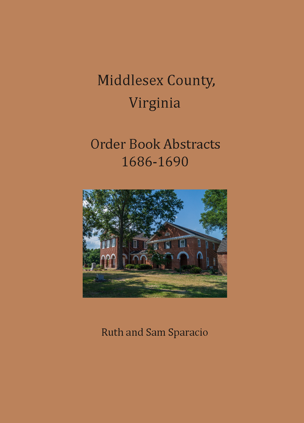 Middlesex County, Virginia Order Book, 1686-1690