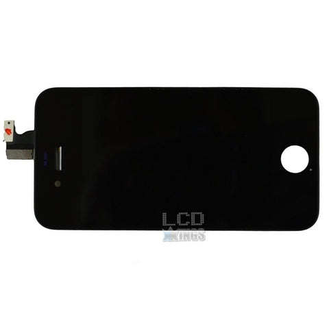 Apple Iphone 4 Black Digitizer And Screen Assembly Touch Screen