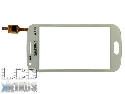 Samsung Galaxy S DUOS GT S7562 S7560 Digitizer White Touch Screen