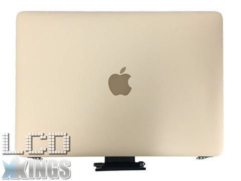 "Apple MacBook Pro A1534 Retina 12"" Assembly Early 2015 Gold Refurb Lid Laptop Screen EMC2746 Only"