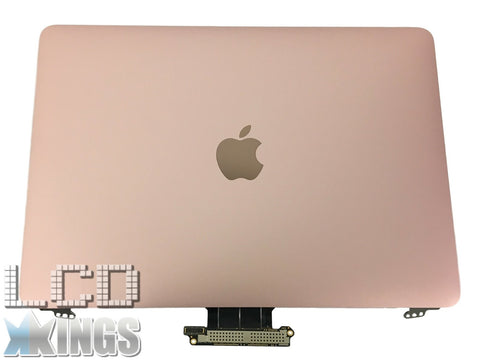"Apple MacBook Pro A1534 12"" Assembly Early 2015 Rose Gold Refurb Lid Laptop Screen"