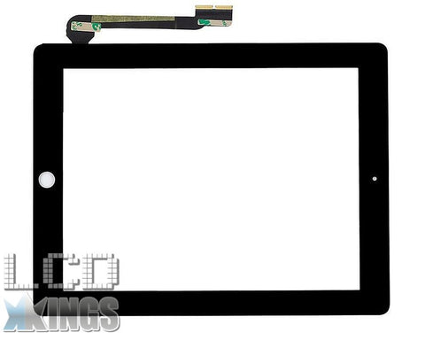Apple Ipad 3 And 4 Digitizer Black