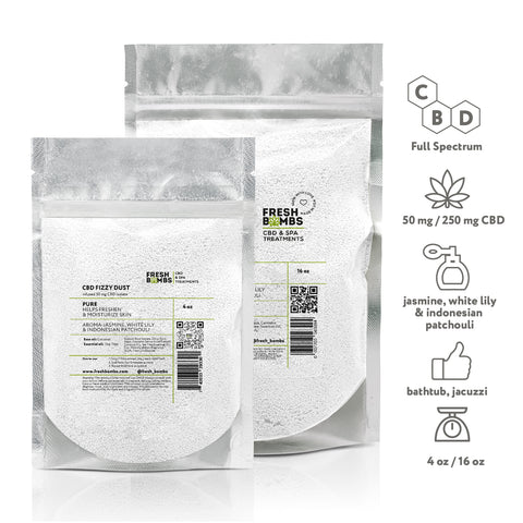 Image of CBD Bath Fizzy dust