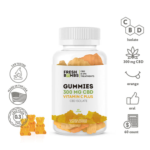 Image of CBD Gummies -  - Fresh Bath Bombs - fresh-bombs