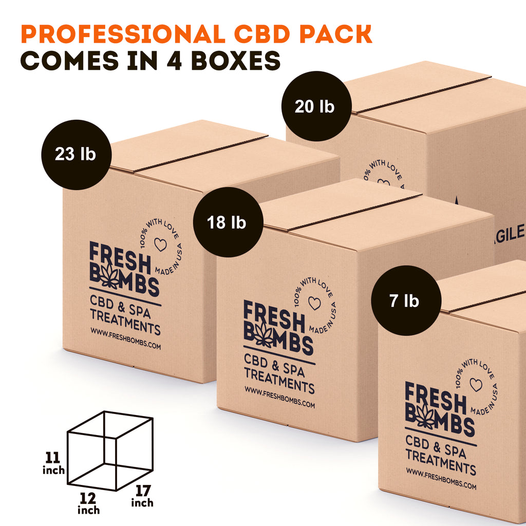 Wholesale CBD- Professional Pack - Wholesale pack - Fresh Bombs - fresh-bombs