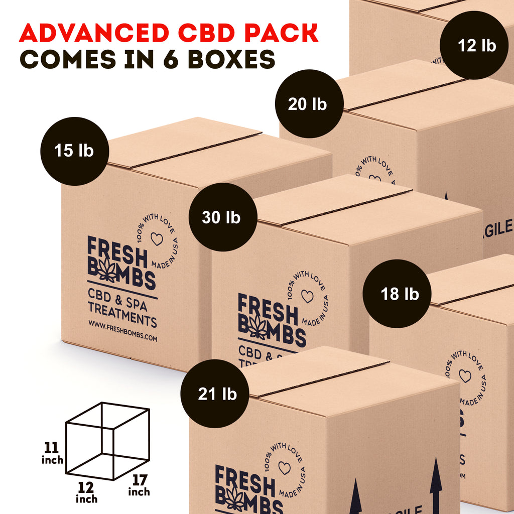 Wholesale CBD- Advanced Pack - Wholesale pack - Fresh Bombs - fresh-bombs