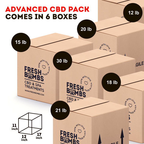 Image of Wholesale CBD- Advanced Pack - Wholesale pack - Fresh Bombs - fresh-bombs